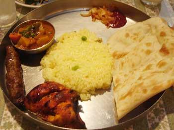 インディアン カフェレストラン スパイスヘブン インドカレー1