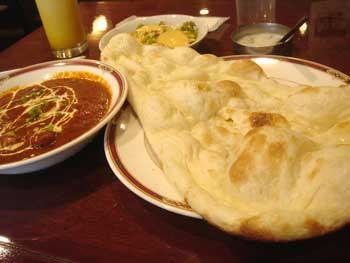 インド料理ハベリ インドカレー1